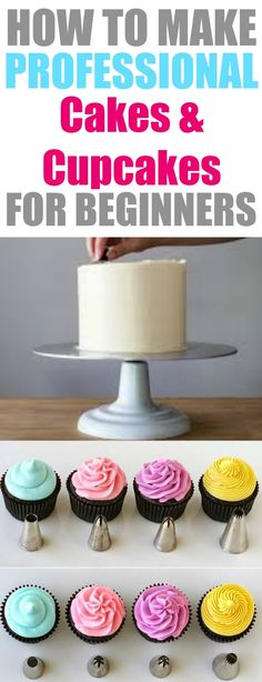 Like many I have always seen those fun and beautiful cakes on pinterest and instagram and I always wanted to know how they made them! I love cake decorating it is so much fun! So using this guide has helped me make better cakes and cupcakes at home that look like a professional bakery made it. I love this! If you are a beginner baker than you need these cake tools too!