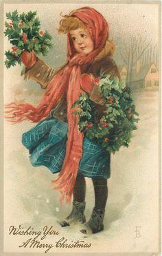Коллекция картинок: Старинные открытки с детьми от Frances Brundage,часть2
