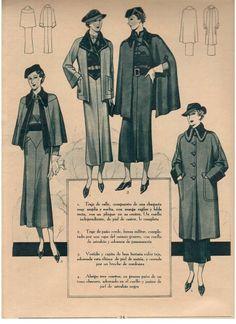 1930's fashion plates