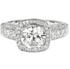 This Engagement Ring Is Proof You Can Never Have Too Many Diamonds