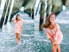 Love everything about this senior photo shoot at the beach. I could so do this at the Wrighstville Beach pier!
