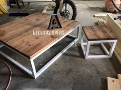 Rustic Home Decor Ana White DIY Shanty 2 Chic Rustic Shabby Chic Coffee Table Living Room Reclaimed Wood Salvaged Wood Living Room Ideas End Tables Industrial Decor