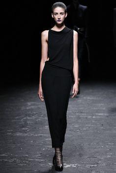 Haider Ackermann Spring 2013 Ready-to-Wear Fashion Show - Cristina Herrmann (OUI)