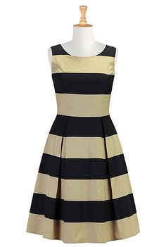 eShakti is my fav place to go for great frocks I can customize to fit my shape. For $79.95 (U.S.) you can't pass up this great striped dress that have colors that enhance your shape. Perfect for a fall religious service or lunch with the girls. Throw in some colorful accessories and you're good to go.