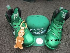 Nike Lebron 9 Boston Celtics Imagine That Sneaker Designed By DELZ nike  Boston Celtics a6ace2e19