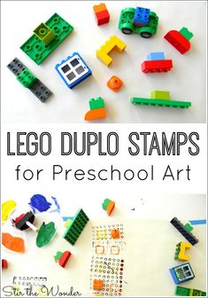 LEGO Duplo Stamps are a fun and creative way to teach young children about shapes and colors which is a foundation of…