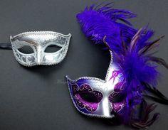 Couple Masquerade Mask for Men and Women by MasquerademaskStudio