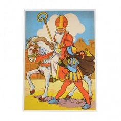 Kaart, Sinterklaas, Sint & Piet