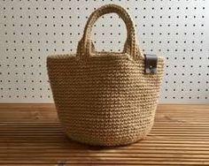 Chunky Crochet, Crochet Yarn, Japanese Crochet Bag, Crochet Market Bag, Fabric Bags, Crochet Purses, Crochet Gifts, Handmade Bags, Straw Bag