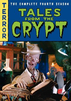 Tales From The Crypt: The Complete Fourth Season Dvd From Warner Bros. Ec Comics, Horror Comics, Horror Films, Old Tv Shows, Movies And Tv Shows, Richard Donner, Horror Themes, Tales From The Crypt, Hbo Series