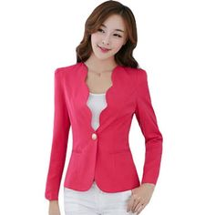 Material: Cotton,PolyesterGender: WomenItem Type: Blazers Ships within business days - 15 or more to receive Blazers For Women, Suits For Women, Jackets For Women, Clothes For Women, Blazer E Short, Blazer And Shorts, Traje Casual, Casual Work Outfits, Western Dresses