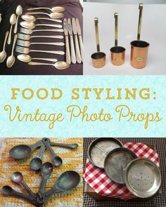 Vintage Food Styling