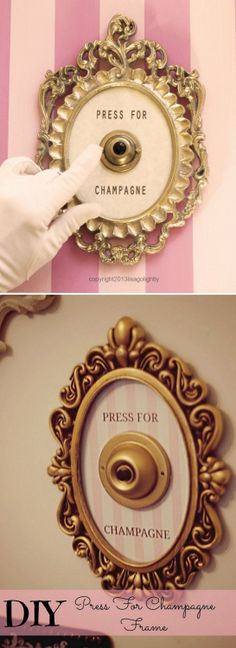 diychristmascrafts: BUY or DIY: Press for Champagne… or...