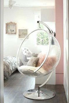 Pin Tricia Rowe Reneau On For Bella Room Decor Dream Rooms with regard to size 820 X 1217 Cool Chairs For A Bedroom - When choosing small bedroom chairs, Bedroom Chair, Home Decor Bedroom, Living Room Decor, Bedroom Ideas, Decor Room, Bedroom Hammock, Bedroom Seating, Bedroom Furniture, Small Space Living Room