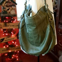 Shoulder Bag Like New Large Sage a.n.a. Bag Gently used for a few days. PERFECT Condition! a.n.a Bags Shoulder Bags