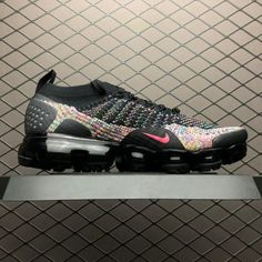 9a010c47fd3 Buy Nike Air VaporMax Flyknit 2.0 Black Multi-Color Shoes-4