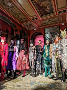 Dilara Findikoglu's Launch of NEW WORLD ORDER for LFW 2017 at Sir John Soane's Musuem
