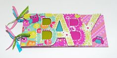 Baby Photo Album 10 Pages cute owl motif 5 x 105 by CabanaArts, $20.00