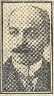 John Archer 1863-1931, the UK's first Black mayor and political activist.