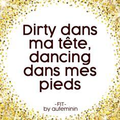 Retrouve nos citations sur la danse, le sport, le fitness, la motivation sur notre page Facebook Fit by aufeminin !