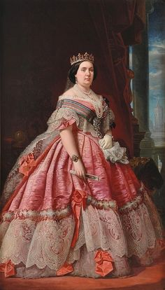 1858 Isabel II    Borbon family   Spanish     (location unknown to gogm) | Grand Ladies | gogm
