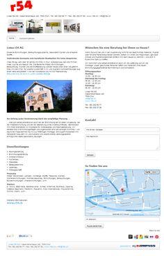 Linea r54 AG, Wohnmöbel, Chur, Büromöbel, Kücheneinrichtungen, Messebau