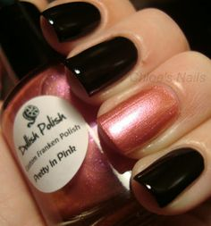 Chloe's Nails - forget the black ones, I just like the pink color :)