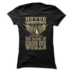 Never Underestimate... Rising Sun Women - 99 Cool City Shirt ! T-Shirts, Hoodies (22.25$ ==► Order Here!)