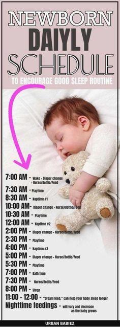 Baby Daily Schedule – Baby Daily Schedule – Urban Mamaz A baby daily routine … – Newborn Baby Massage Baby Trivia, Newborn Schedule, Baby Sleep Schedule, Baby Sleep Routine, Feeding Schedule For Baby, Routine For Newborn, Baby Routines, Baby Massage, Baby Schlafplan