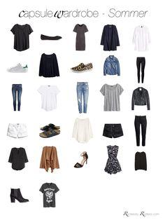 Capsule Wardrobe Sommer 2016 - Summer Capsule Wardrobe