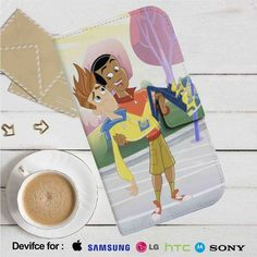 Fresh Beat Band of Spies Shout Holding Twist Leather Wallet iPhone 4/4S 5S/C 6/6S Plus 7  Samsung Galaxy S4 S5 S6 S7 NOTE 3 4 5  LG G2 G3 G4  MOTOROLA MOTO X X2 NEXUS 6  SONY Z3 Z4 MINI  HTC ONE X M7 M8 M9 CASE