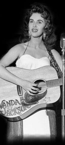 Wanda Jackson - 2009 Inductee to the Rock & Roll Hall of Fame.