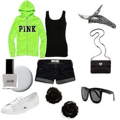 love pink <3, created by jkmaher on Polyvore