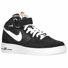 Nike Air Force 1 Mid. An old school classic. Ten years ago or more I had, but can't find anywhere now