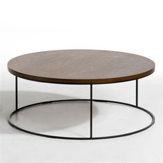 1000 images about table basse on pinterest tables bass and pin collection - Table basse ronde noir ...