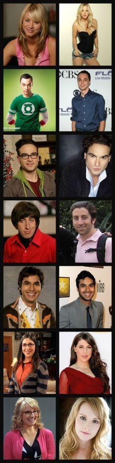 TBBT actors
