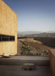 Oracle, Fox, Sunday, Sanctuary, Cactus, Desert, House, Minimal, Interior, Morocco