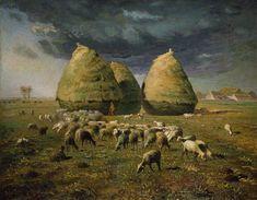 File:Haystacks Autumn 1873 Jean-Francois Millet.jpg