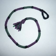 Atebas amovible / noir violet vert / 33 cm