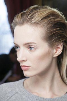 Balmain, love the transparency of her makeup!
