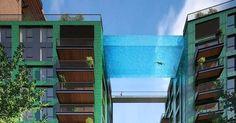 Cette piscine originale relie deux immeubles à Londres !