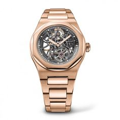 Girard-Perregaux Laureato Skeleton in rose gold