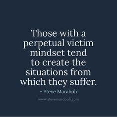 Always a victim