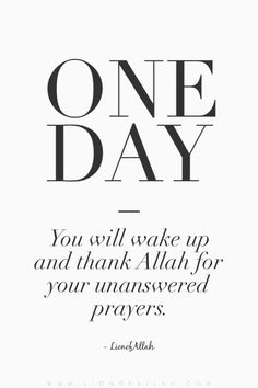 I'm beginning to understand why it wasn't so... Alhamdulillah.