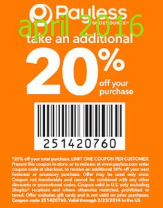 Printable Coupons Payless Shoes
