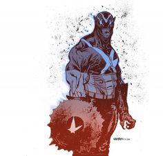 Captain venom color - Comic Illustrations by James Harren  <3 <3