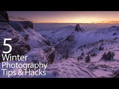 2 Video Tutorials - Tips for Better Winter Photography