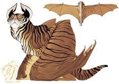 Tigerbat by SammyTorres on deviantART