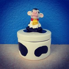 Moo! Love our new cow toppers!