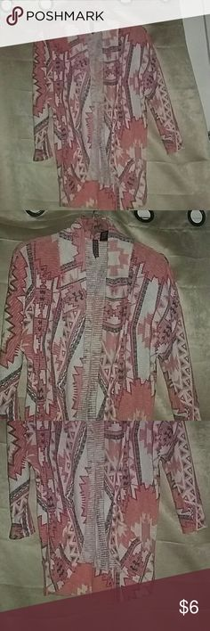Love & Let Love Sweater Jacket Worn once 55% cotton  43% polyester 2% spandex Love & Let Love Sweaters